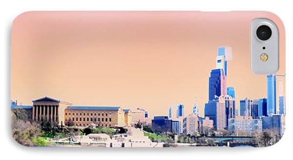 Philadelphia Panoramic Phone Case by Bill Cannon
