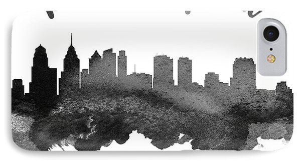 Philadelphia Pennsylvania Skyline 18 IPhone 7 Case by Aged Pixel