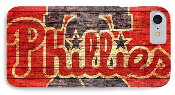 Philadelphia Phillies Barn Door IPhone Case by Dan Sproul