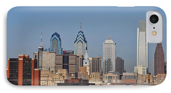 Philadelphia Standing Tall Phone Case by Bill Cannon