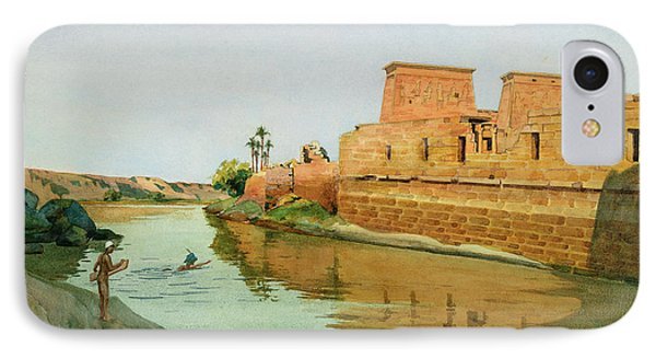 Philae On The Nile IPhone Case by Alexander West