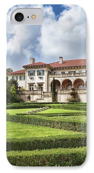 Philbrook Museum Tulsa Oklahoma Photograph  IPhone Case by Ann Powell