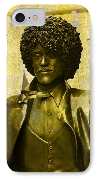 Philip Lynott Statue IPhone Case by Martina Fagan
