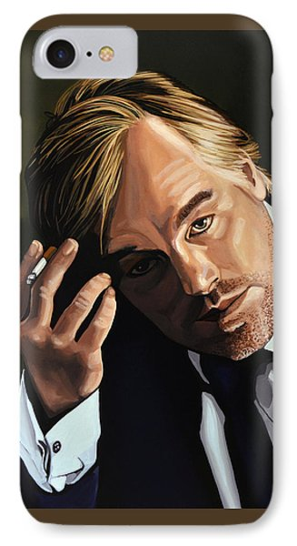 Philip Seymour Hoffman IPhone Case by Paul Meijering