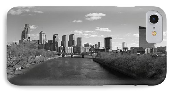 Philly B/w IPhone Case by Jennifer Ancker