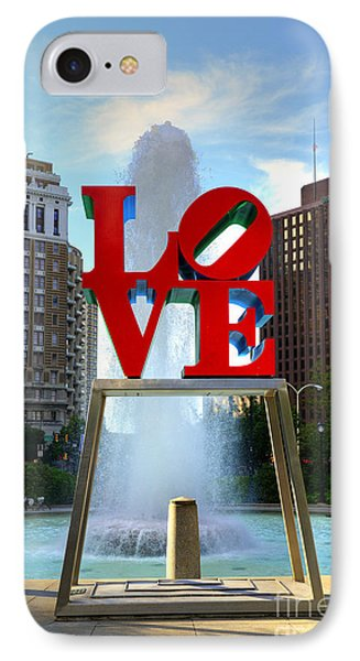 Philly Love Phone Case by Paul Ward