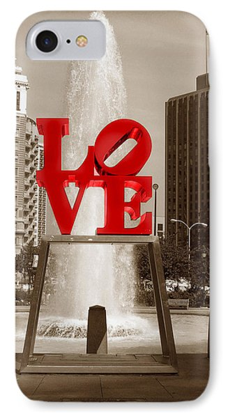 Philly Love IPhone Case by Skip Willits