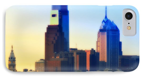 Philly Morning Phone Case by Bill Cannon