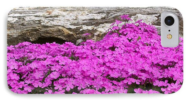 IPhone Case featuring the digital art Phlox by Barbara S Nickerson