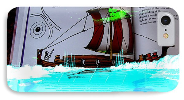 Phoenician Night Voyagers  IPhone Case by Paul Sutcliffe