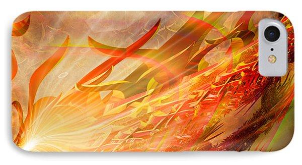 Phoenix IPhone Case by Michael Durst