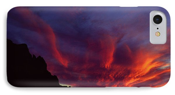 Phoenix Risen IPhone 7 Case by Randy Oberg