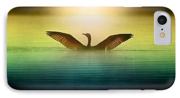 Phoenix Rising IPhone 7 Case by Rob Blair