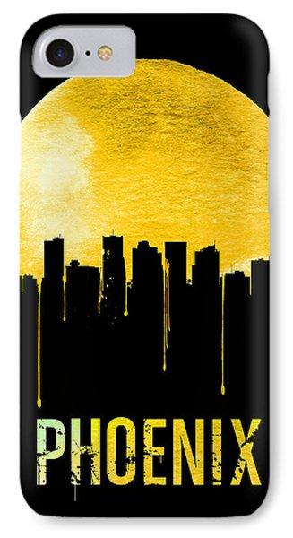 Phoenix Skyline Yellow IPhone 7 Case by Naxart Studio