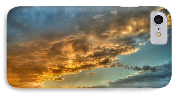 Phoenix Sunset IPhone Case by Anthony Citro
