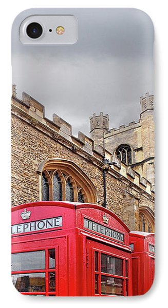 IPhone Case featuring the photograph Phone Home - Gt St Marys Church Cambridge by Gill Billington