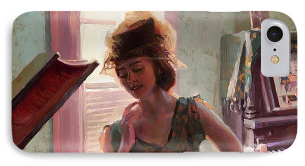 Ostrich iPhone 7 Case - Phonograph Days by Steve Henderson