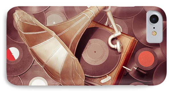 Phonograph Music Player IPhone Case