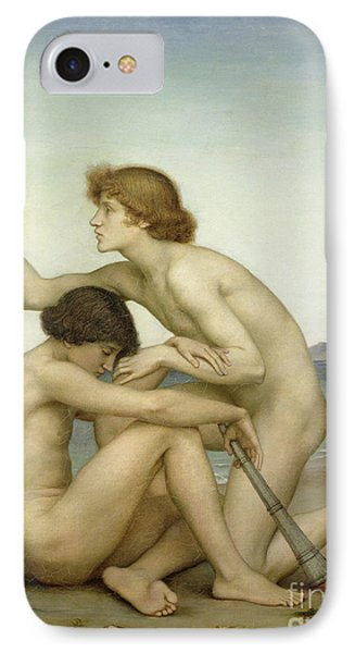 Phosphorus And Hesperus IPhone Case by Evelyn De Morgan