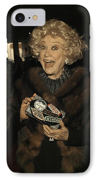 Phyllis Diller Phone Case by Nina Prommer