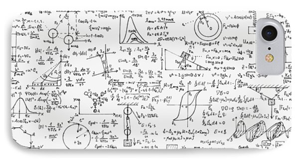 Physics Forms IPhone Case by Gina Dsgn