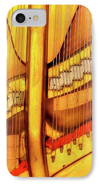 Piano 1 IPhone Case by Rebecca Cozart