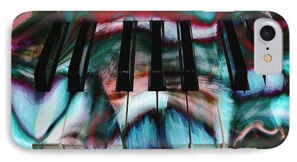 Piano Colors Phone Case by Linda Sannuti