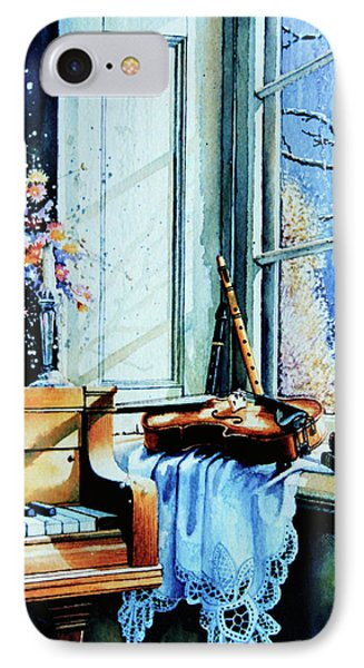 Piano In The Sun Phone Case by Hanne Lore Koehler