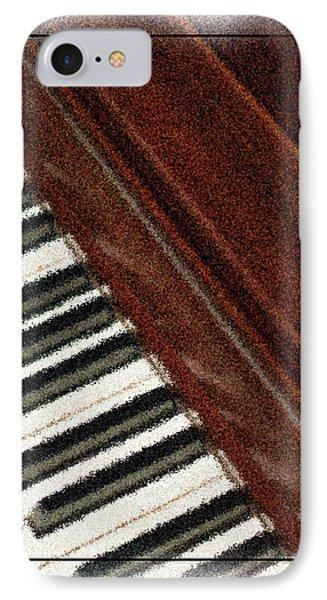 Piano Keys Phone Case by Carolyn Marshall