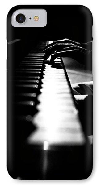 Piano Player Phone Case by Scott Sawyer