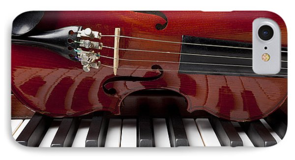 Piano Reflections Phone Case by Garry Gay