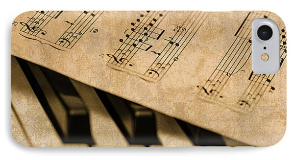 Piano Sheet Music IPhone Case by Design Turnpike