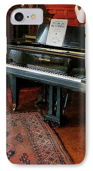 Piano With Sheet Music Phone Case by Susan Savad