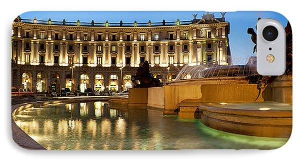 Piazza Della Repubblica IPhone Case