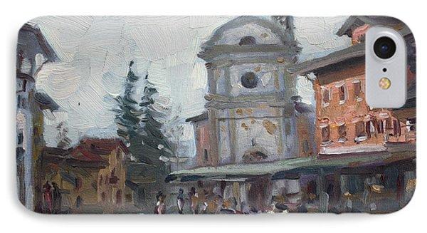 Piazza Di Limana IPhone Case