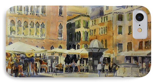 Piazza San Angelo IPhone Case by David Gilmore