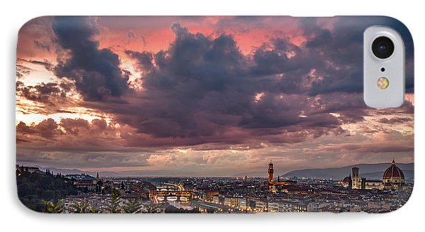 Piazzale Michelangelo IPhone Case by Giuseppe Torre