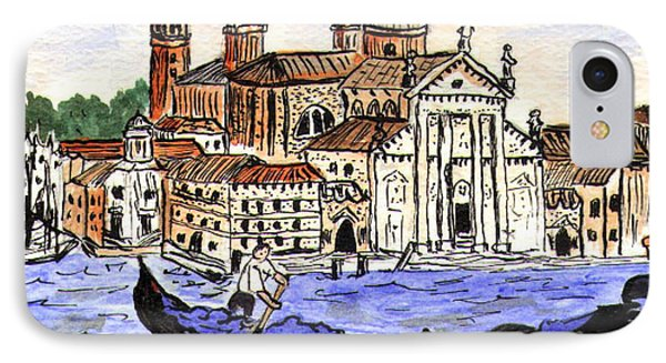 Piazzo San Marco Venice Italy Phone Case by Arlene  Wright-Correll