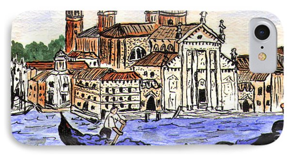 Piazzo San Marco Venice Italy IPhone Case by Arlene  Wright-Correll