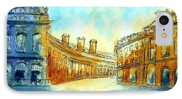 Picadilly Circus IPhone Case by Mary Kay Holladay