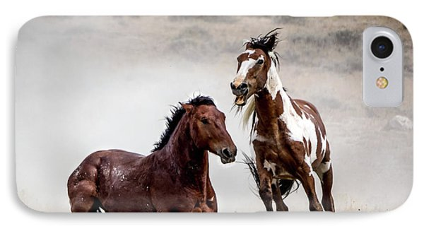 Picasso - Wild Stallion Battle IPhone Case