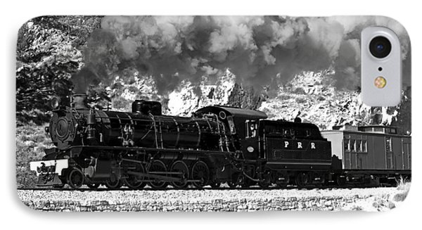 IPhone Case featuring the photograph Pichi Richi Railwaytrain by Bill  Robinson