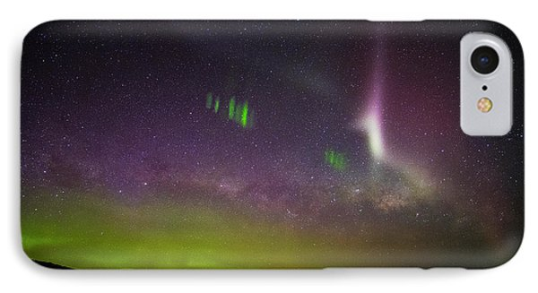 Picket Fences And Proton Arc, Aurora Australis IPhone Case by Odille Esmonde-Morgan