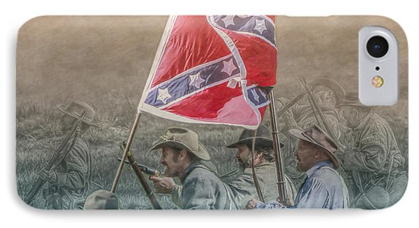 Pickett's Charge At Gettysburg IPhone Case by Randy Steele