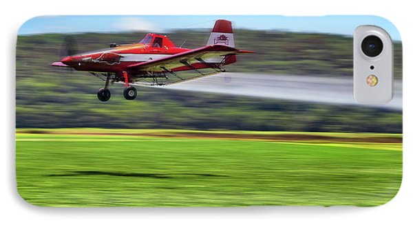 Picking It Up And Putting It Down - Crop Duster - Arkansas Razorbacks Phone Case by Jason Politte