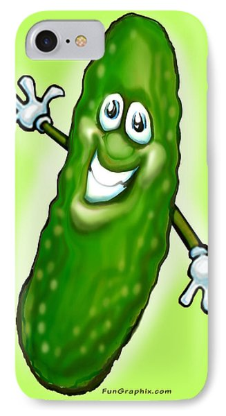 Pickle Phone Case by Kevin Middleton