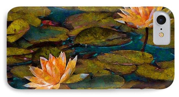 Picnic By The Pond IPhone Case by John  Kolenberg