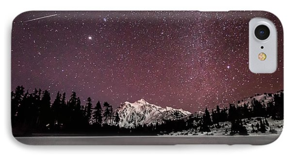Picture Lake At Midnight IPhone Case by Ryan McGinnis