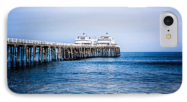 Picture Of Malibu Pier In Southern California IPhone Case by Paul Velgos