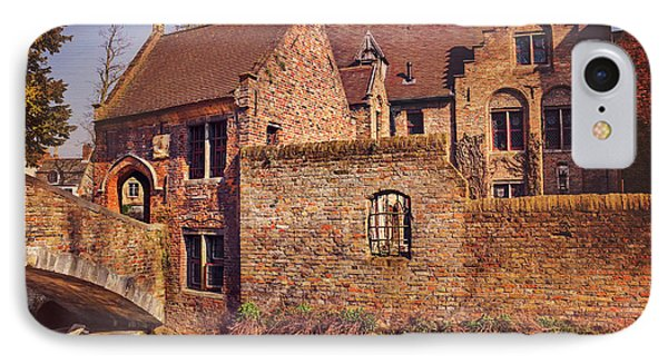 IPhone Case featuring the photograph Picturesque Bruges  by Carol Japp